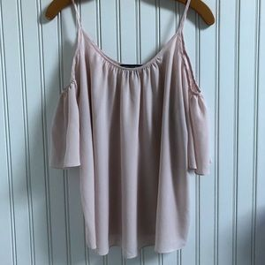 French Connection Cold Shoulder Blouse